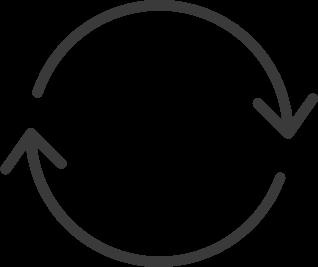 recurring text icon